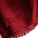 Кашемировый шарф Chadrin с шелком красный, фото 3
