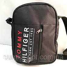 Спортивные барсетки Tommy Hilfiger текстиль (черный)20*27см