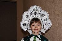 Корона кокошник для Снегурочки прокат Киев, фото 1