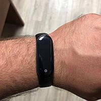 Фитнес браслет M4 трекер часы копия Xiaomi Mi Band 4 Черный