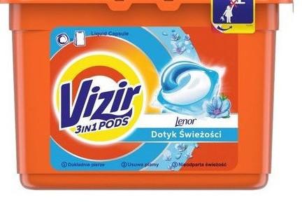 Капсулы для стирки Vizir 3in1 PODS Kolor, 41шт