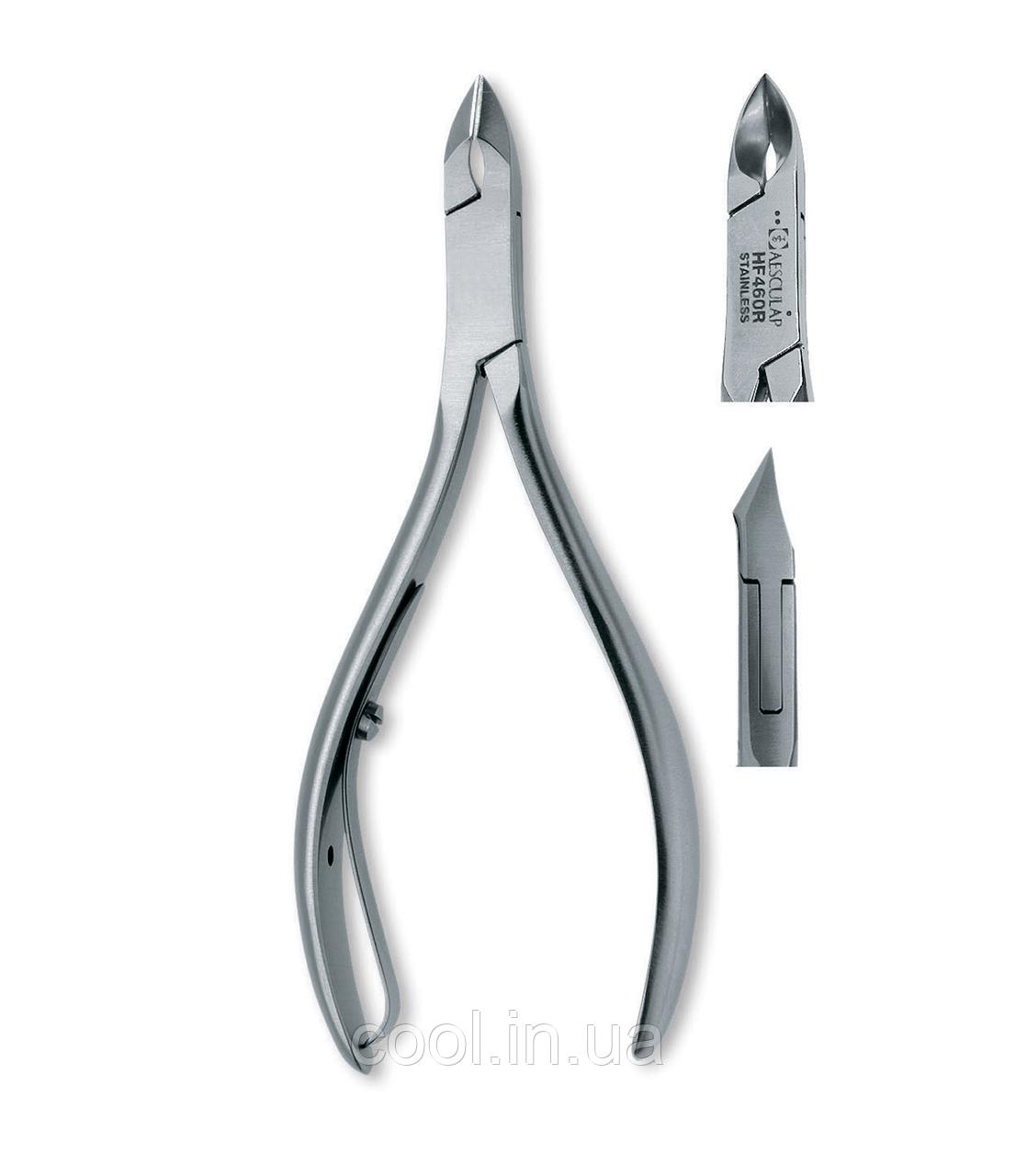 Щипцы для кожи, лезвие 4 мм., инструментальная сталь, 10 см