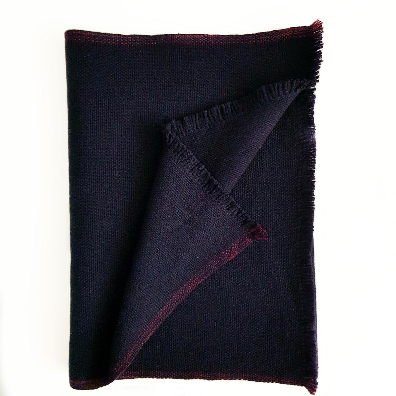 Кашемировый шарф Chadrin темно синий