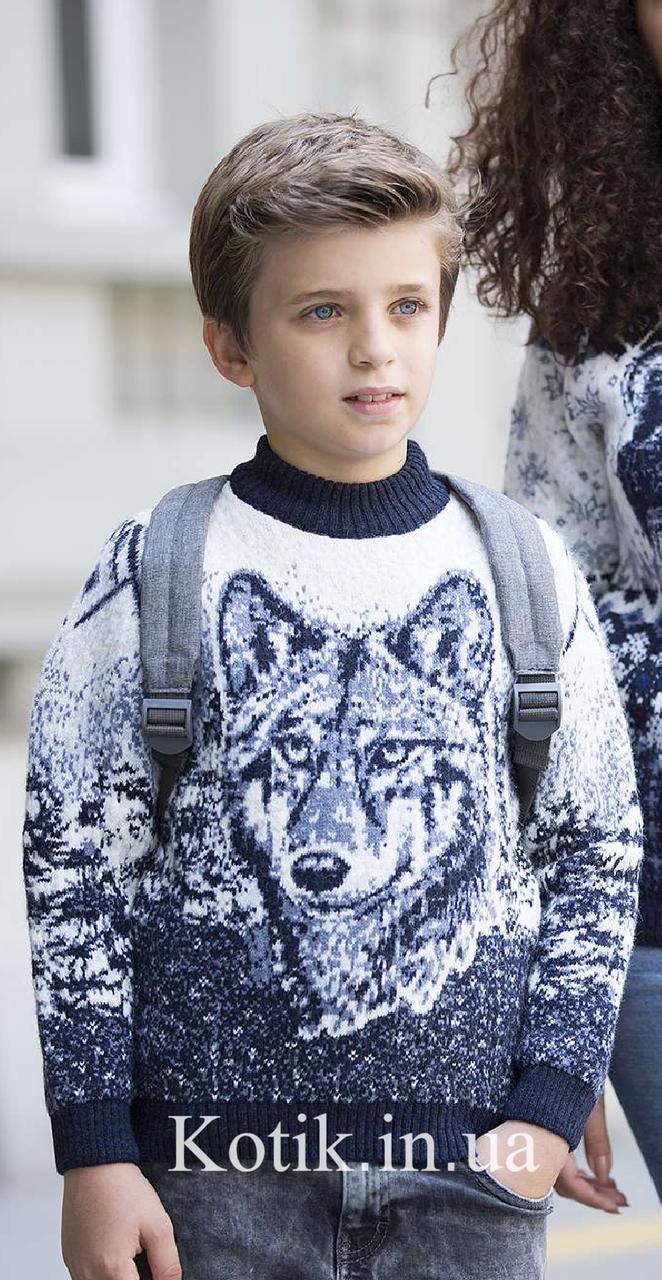 Свитер детский Pulltonic Wolf