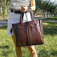 "Женская кожаная сумка ""Аурика 2 Brown"", фото 1"