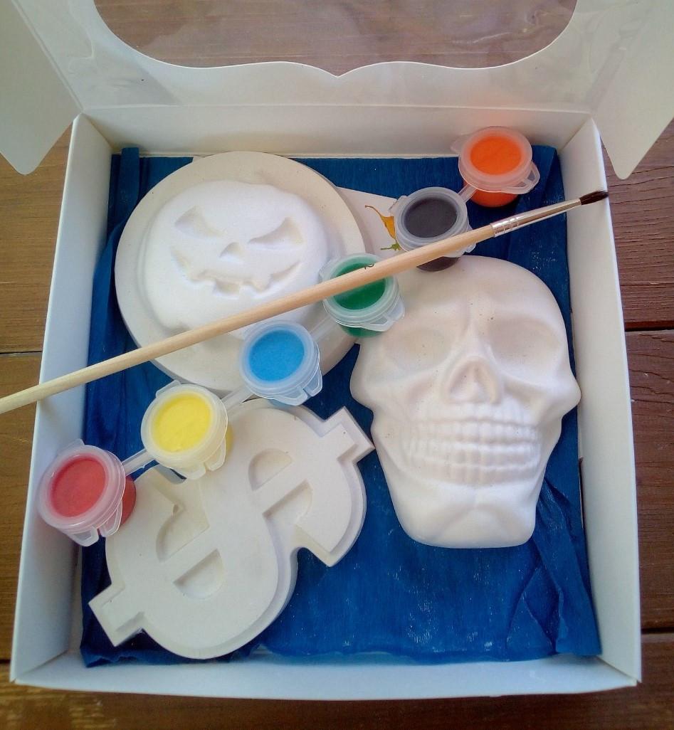 Набор гипсовых фигурок для творчества. Набір гіпсових фігурок для творчості №67 Хеллоуин
