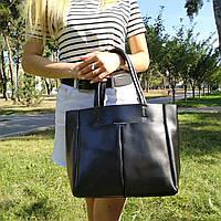 """Женская кожаная сумка """"Аурика 2 Black"""", фото 1"""