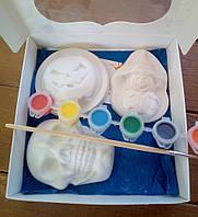 Набор гипсовых фигурок для творчества. Набір гіпсових фігурок для творчості №68 Хеллоуин