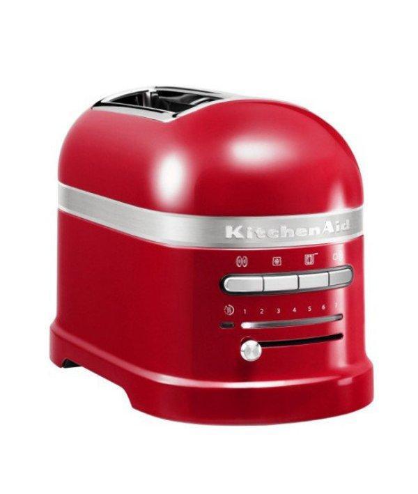 Тостер KitchenAid на 2 тоста красный 5KMT2204EER