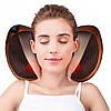 Массажная подушка Massage Pillow с инфракрасным подогревом для спины и шеи, ног R178608
