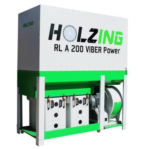 Аспирация Holzing RLA 200 VIBER Power 6500 м3/ч