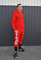 Мужской спортивный костюм утепленный Heron Preston x Стиль red, фото 1