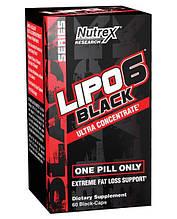 Жиросжигатели, Термогеники Nutrex Lipo-6 black ultra concentrate 60 капс