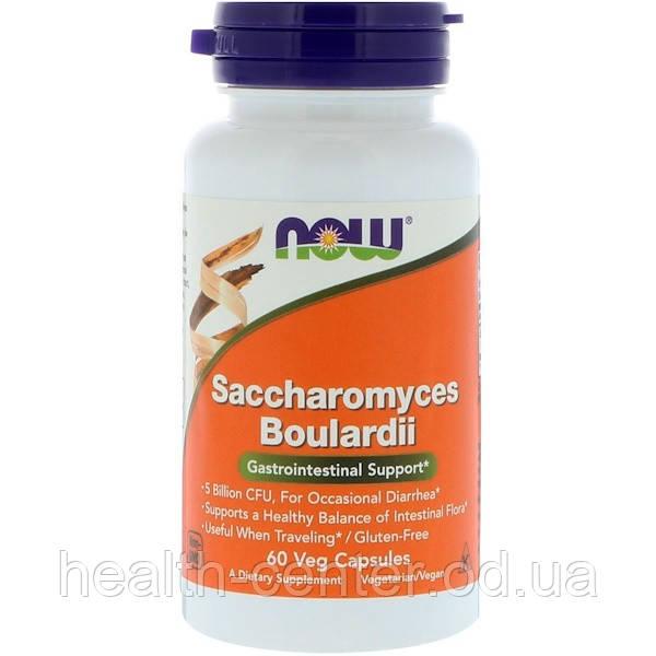 Сахаромицеты буларди 5 млрд 60 капс лечение кандидоза диареи подавление патогенной микрофлоры Now Foods USA