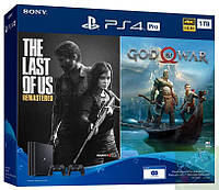 Sony Playstation 4 PRO 1Tb  + God of War IV + The Last of Us