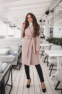 Пальто женское Бежевый