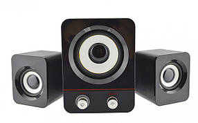 Комп'ютерні колонки акустика H1 Bass Usb, фото 2