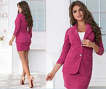 Женский вельветовый костюм.Размеры:42-46.+Цвета