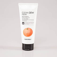 Очищающая пенка для умывания с красным грейпфрутом Tony Moly Clean Dew Red Grapefruit Foam Cleanser