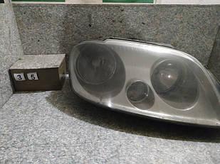 №35 Фара ПРАВА для Volkswagen Caddy 04-10 ДИФЕКТ