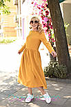 Женское платье-миди (в расцветках), фото 7