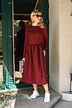 Женское платье-миди (в расцветках), фото 5
