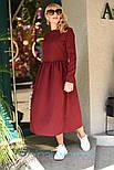 Женское платье-миди (в расцветках), фото 3