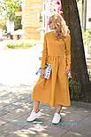 Женское платье-миди (в расцветках), фото 6