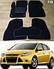 Коврики на Ford Focus III '11-18. Текстильные автоковрики