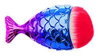"""Щетка """"Рыбка"""" для удаления пыли, розово-синяя"""