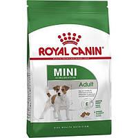 Сухой Корм Royal Canin Mini Adult Для Собак Мелких Пород Старше 10 Месяцев, 800 Г