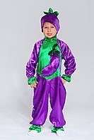 Детский карнавальный костюм Баклажан, рост 92-128