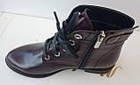 Ботинки демисезонные на низком ходу из натуральной  кожи от производителя модель ДИС523-2, фото 5