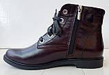 Ботинки демисезонные на низком ходу из натуральной  кожи от производителя модель ДИС523-2, фото 2