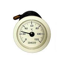 Термометр капиллярный (круглый) ф 52мм., 0-120ºС.