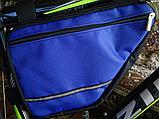 Вело сумка два отделения подрамная четырехугольная велосипедная сумка для велосипеда, велосумка велобардачок, фото 3