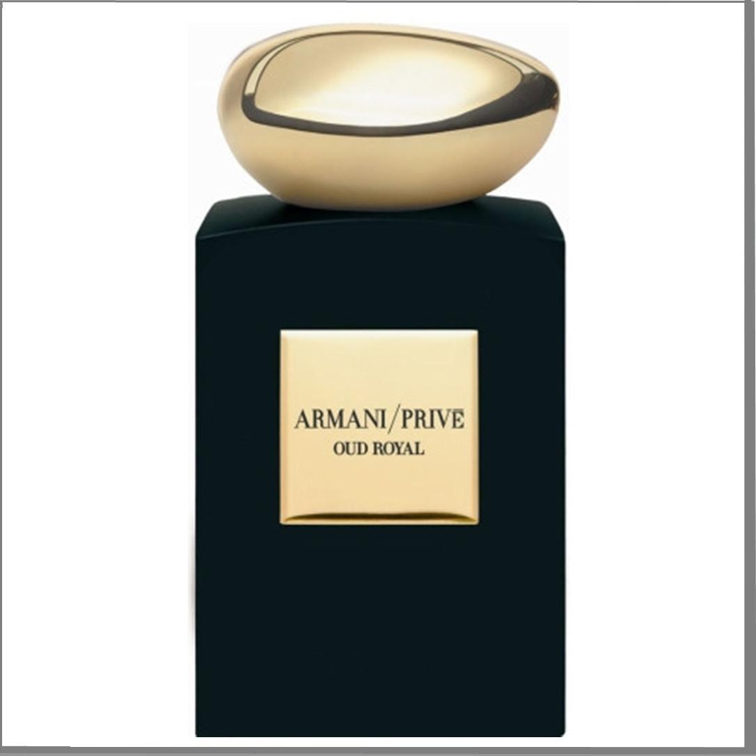 Giorgio Armani Prive Oud Royal парфюмированная вода 100 ml. (Тестер Армани Прайв Уд Роял)