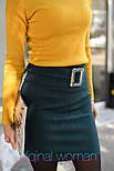 Женская юбка с поясом и гольф рубчик отдельно (в расцветках), фото 10