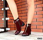 Женские ботинки бордового цвета, из натуральной замши 37 41 ПОСЛЕДНИЕ РАЗМЕРЫ, фото 4