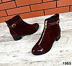 Женские ботинки бордового цвета, из натуральной замши 37 41 ПОСЛЕДНИЕ РАЗМЕРЫ, фото 5