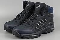 Ботинки мужские синие Bona 728H-6 Бона Размеры 41 43 46, фото 1