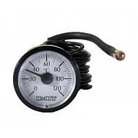 Термометр (круглый) для котлов 0-120С ф 37мм.