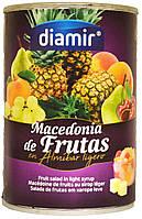 Diamir Macedonia de Frutas 420г.ж/б (Фруктовий коктель в сиропі)