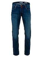 Мужские зауженые джинсы темно-синего цвета от Pierre Cardin