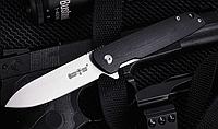 Нож складной, компактный, легкий, с насечкой для большого пальца, рукоятка контрастно-двухсторонняя,практичный, фото 1