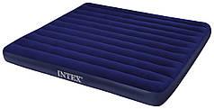 Надувной матрас Intex 68755 двуспальный, 203 х 183 х 22 см