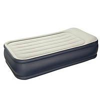 Надувная кровать Intex 64132 со встроенным насосом 220V, 191 х 99 х 42 см