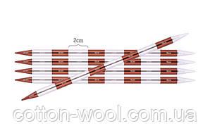 Спиці шкарпеткові KnitPro Smartstix 20 см №2,25