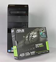 Игровой Системный блок M82 Intel Core i5 3470 8Gb RAM 500GB HDD + новая видео карта Nvidia GTX 1050Ti - 4GB!
