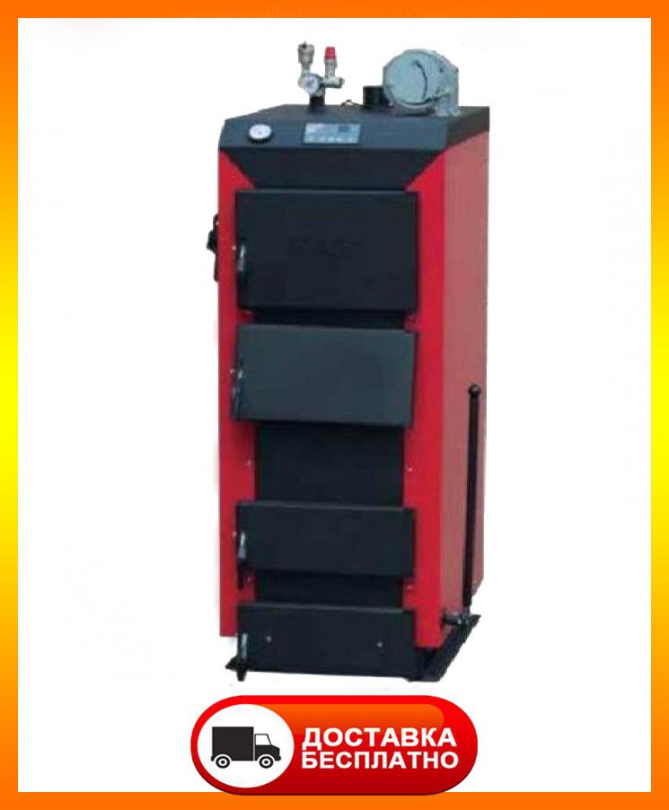 Твёрдотопливный котёл МАЯК КТР-20 кВт ECO MANUAL длительного горения